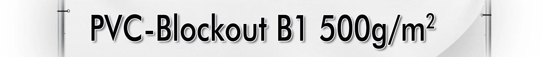 PVC-Blockout B1 500g/m²
