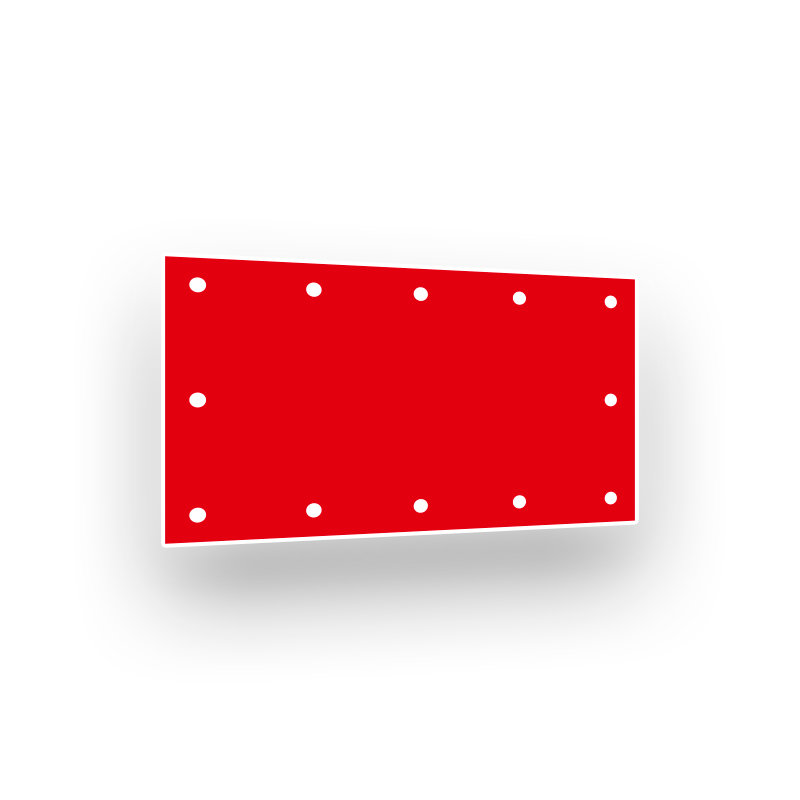 PVC Blockout Banner B1 650g/m²