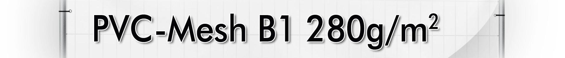 PVC-Mesh B1 280g/m²